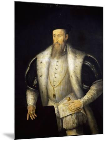 Portrait of Claudio I of Lorraine--Mounted Giclee Print