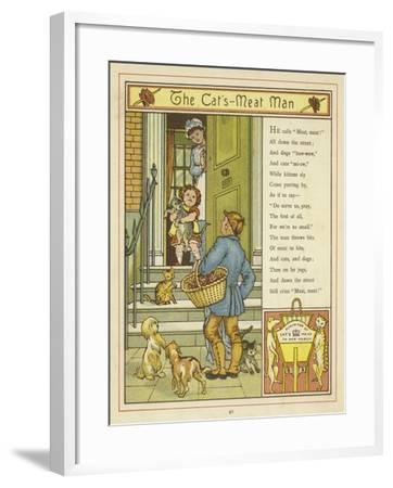 The Cat's Meat Man-Thomas Crane-Framed Giclee Print