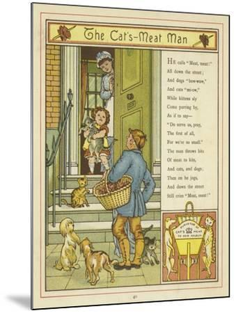 The Cat's Meat Man-Thomas Crane-Mounted Giclee Print
