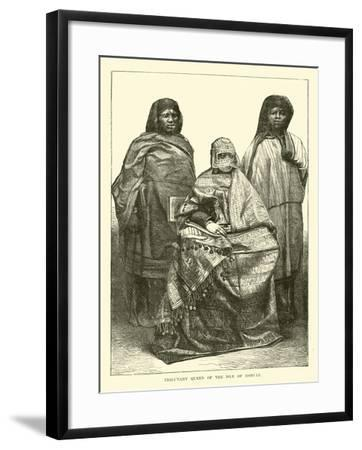 Tributary Queen of the Isle of Moheli--Framed Giclee Print