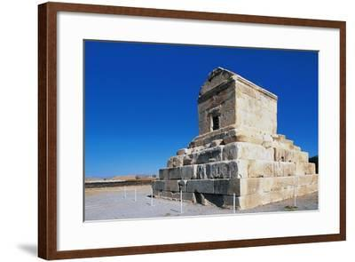 Tomb of Cyrus Great, Pasargad--Framed Photographic Print