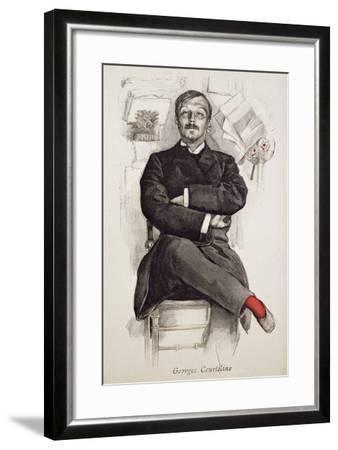 Georges Courteline--Framed Giclee Print