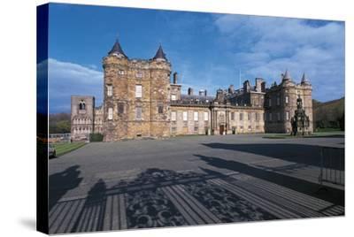 Uk, Scotland, Edinburgh, Parliament Building--Stretched Canvas Print