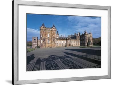 Uk, Scotland, Edinburgh, Parliament Building--Framed Giclee Print