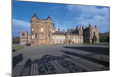 Uk, Scotland, Edinburgh, Parliament Building--Mounted Giclee Print
