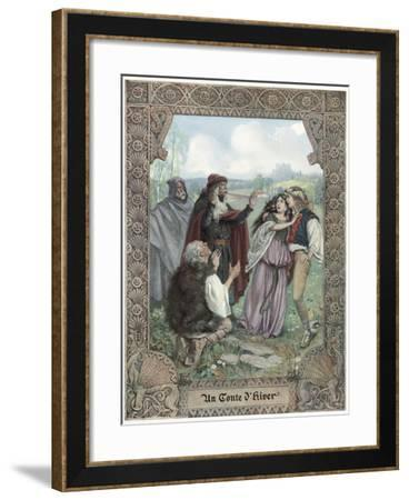 A Winter's Tale--Framed Giclee Print