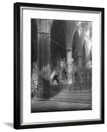 Interior of Westminster Abbey, London-Frederick Henry Evans-Framed Photographic Print