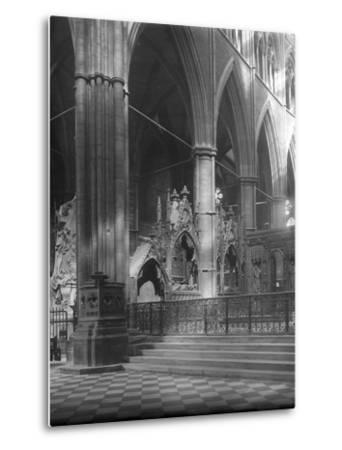 Interior of Westminster Abbey, London-Frederick Henry Evans-Metal Print