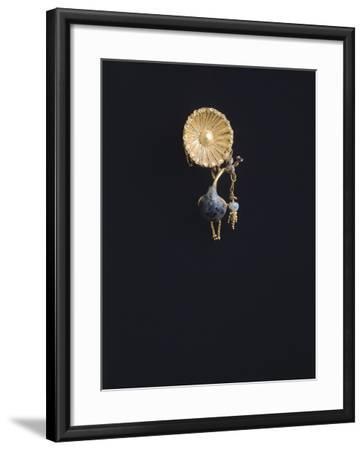 Gold Earring, from Vulci--Framed Giclee Print