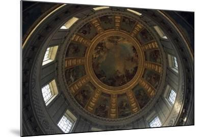 Vault of Dome of Cathedral, Hotel Des Invalides--Mounted Giclee Print