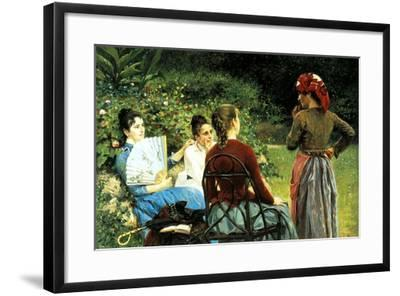 Fernanda Gioli and Her Friends-Francesco Gioli-Framed Giclee Print