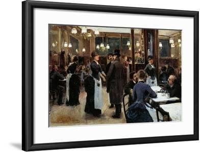 Brasserie of Fidelity-Giovanni Lessi-Framed Giclee Print