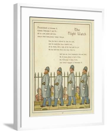 The Night Watch-Thomas Crane-Framed Giclee Print