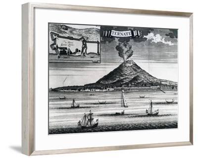 Ternate Island, Circa 1748--Framed Giclee Print