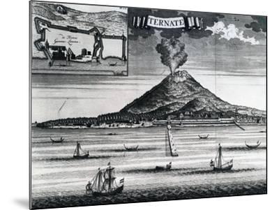 Ternate Island, Circa 1748--Mounted Giclee Print