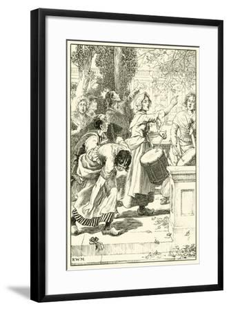 """Down with the Robbers of the Poor!""--Framed Giclee Print"