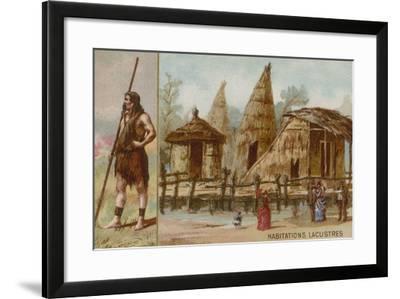 Lake Dwellings--Framed Giclee Print
