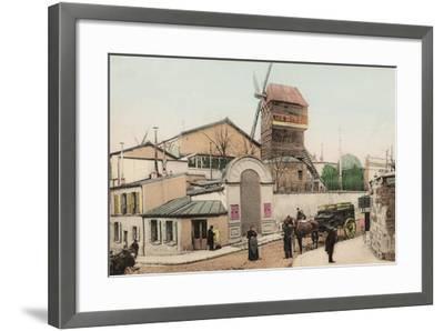 Moulin De La Galette, Montmartre, 1900--Framed Photographic Print