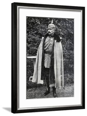 William II of Prussia and Germany--Framed Giclee Print