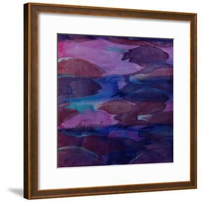 Purple Parrots VI, 2000-Charlotte Johnstone-Framed Giclee Print