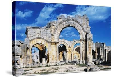 Ruins of the Church of Saint Simeon Stylite--Stretched Canvas Print