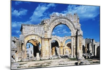 Ruins of the Church of Saint Simeon Stylite--Mounted Giclee Print