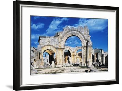 Ruins of the Church of Saint Simeon Stylite--Framed Giclee Print