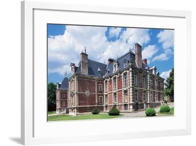 Chateau De Suzanne--Framed Giclee Print