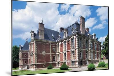 Chateau De Suzanne--Mounted Giclee Print