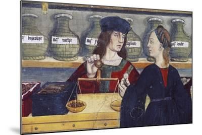 Apothecary's Shop--Mounted Giclee Print