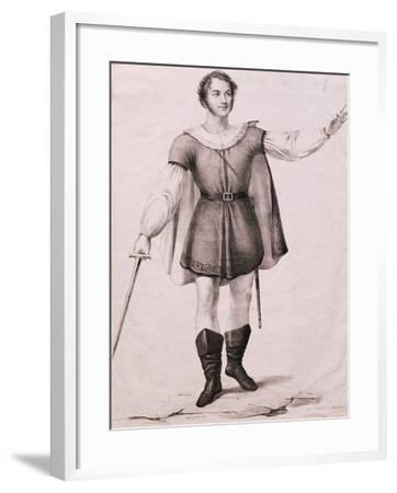 Portrait of Giovanni Battista Rubini--Framed Giclee Print