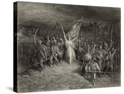 La Marseillaise-Gustave Dor?-Stretched Canvas Print