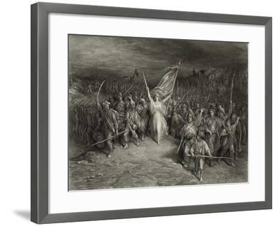 La Marseillaise-Gustave Dor?-Framed Photographic Print
