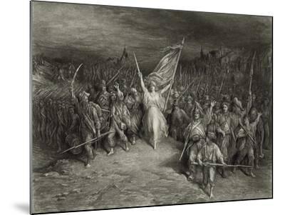 La Marseillaise-Gustave Dor?-Mounted Photographic Print