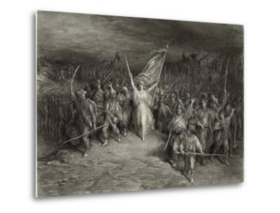 La Marseillaise-Gustave Dor?-Metal Print