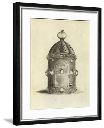 Ancient Lantern--Framed Giclee Print