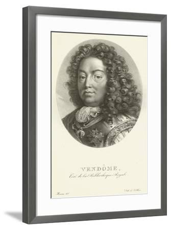 Duc De Vendome--Framed Giclee Print