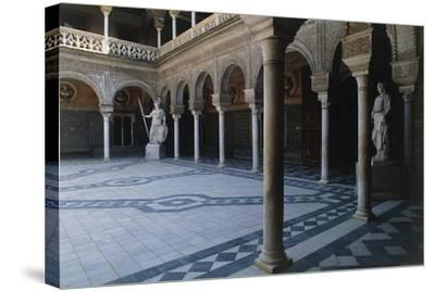 Courtyard, Pilate's House--Stretched Canvas Print