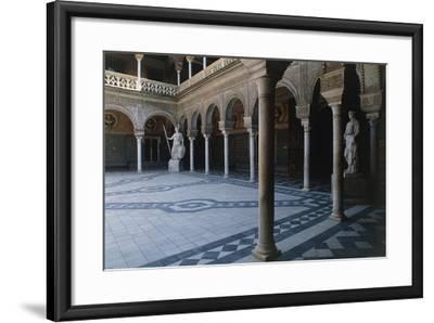 Courtyard, Pilate's House--Framed Giclee Print