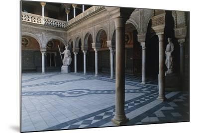 Courtyard, Pilate's House--Mounted Giclee Print