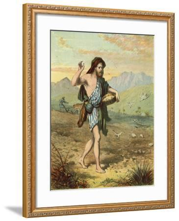 Sowing the Seed--Framed Giclee Print