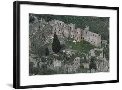 Despot's Palace, Mistra--Framed Giclee Print