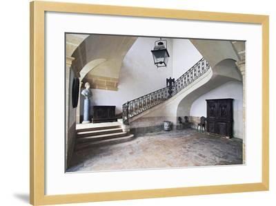 Castle of Loyat--Framed Giclee Print