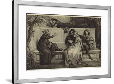 A Florentine Poet-Alexandre Cabanel-Framed Photographic Print