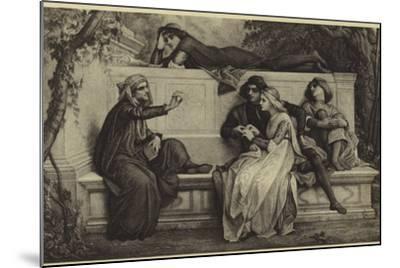 A Florentine Poet-Alexandre Cabanel-Mounted Photographic Print