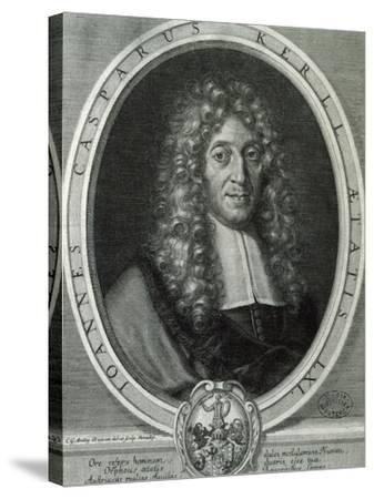 Portrait of Johann Kaspar Kerll--Stretched Canvas Print