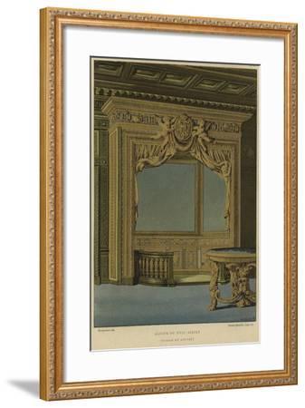 Alcove, Palais Du Louvre, Paris, 17th Century--Framed Giclee Print