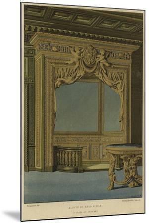 Alcove, Palais Du Louvre, Paris, 17th Century--Mounted Giclee Print