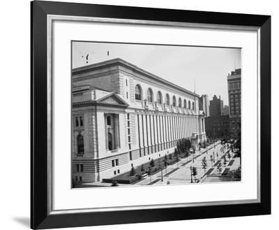 New York Public Library, C.1910--Framed Photographic Print