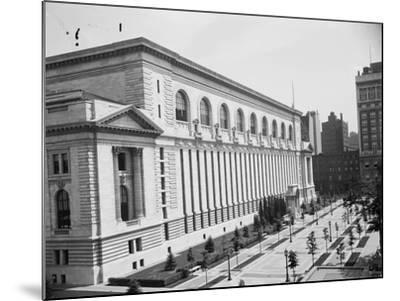New York Public Library, C.1910--Mounted Photographic Print